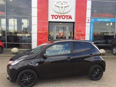 usado Toyota Aygo 1,0 VVT-I X-Black 69HK 5d
