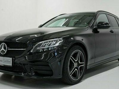 brugt Mercedes C200 AMG Line stc. aut. 2020