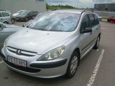 brugt Peugeot 307 1,6 XR stc.