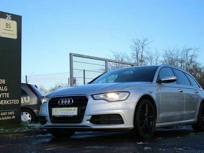 brugt Audi A6 3,0 TDi 204 S-line Avant Multitr.
