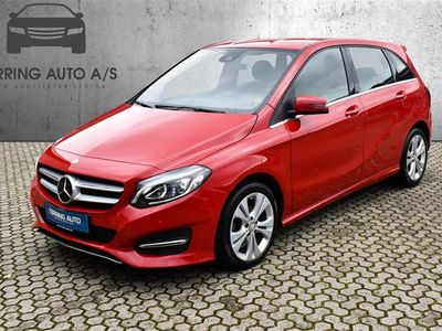 brugt Mercedes B180 1,5 CDI 109HK 6g - Personbil - rød