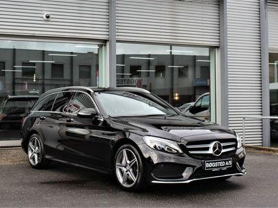 brugt Mercedes C250 2,0 AMG Line stc. aut.