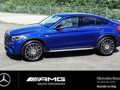 brugt Mercedes GLC300 GLC300 2,0 -Benz AMG 63 Line4MATIC Coupe 9G-TRONIC Turbo Sport
