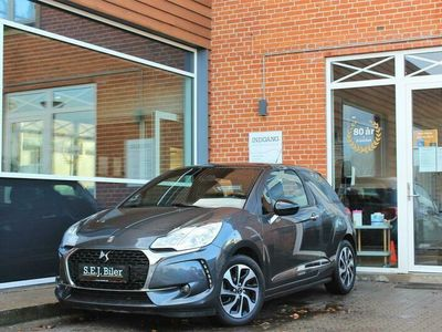 brugt DS Automobiles DS3 1,6 Blue HDi Style start/stop 100HK 3d