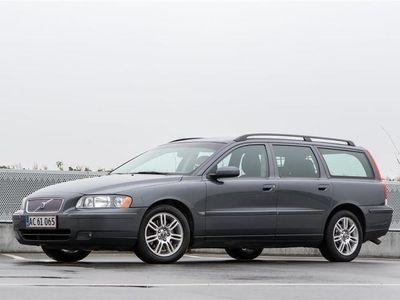 brugt Volvo V70 2,4 D5 Kinetic 163HK Stc Aut.
