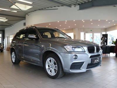 usata BMW X3 20D 2,0 D Connected XDrive Steptronic 190HK 5d 8g Aut.