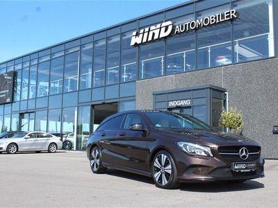 brugt Mercedes CLA200 Shooting Brake d 2,1 CDI Final Edition 7G-DCT 136HK Stc 7g Aut.