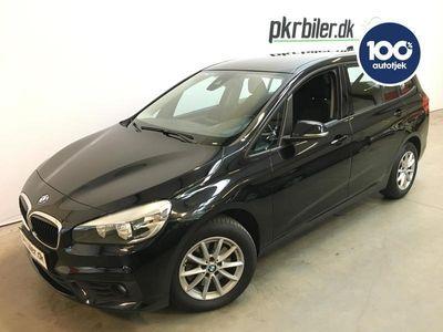 brugt BMW 218 Gran Tourer 2,0 d Steptronic 150HK MPV aut 5d