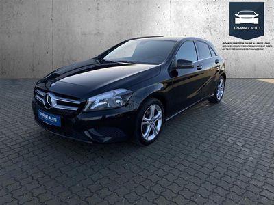 brugt Mercedes A200 d 2,1 CDI 136HK 5d 6g - Personbil - Sortmetal