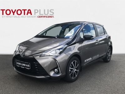 brugt Toyota Yaris 1,5 VVT-I T2 Limited Premium Multidrive S 111HK 5d 6g Aut. A+