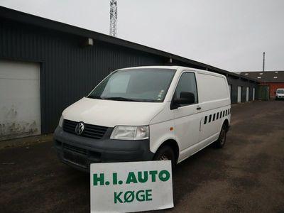 brugt VW Transporter 1,9 TDi 104 Kassevogn kort