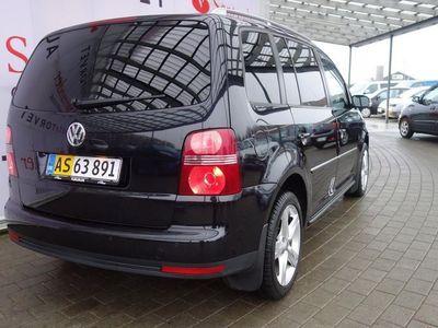 brugt VW Touran 2,0 TDI DPF Highline 170HK Van 6g