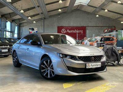 brugt Peugeot 508 1,6 PureTech Plugin-hybrid GT Line EAT8 start/stop 225HK 8g Aut.