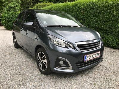usata Peugeot 108 1.0 e-VTi 69 hk 5D
