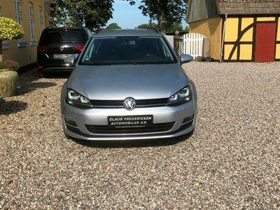 brugt VW Golf VII 1,6 TDi 110 BlueMotion Variant DSG