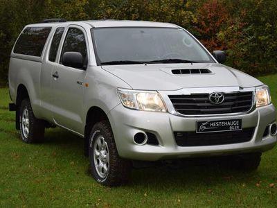 brugt Toyota HiLux Extra Cab 2,5 D-4D T2 4x4 144HK Pick-Up