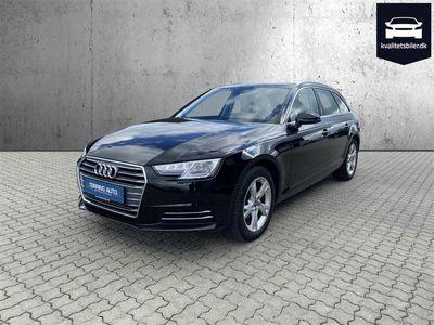 brugt Audi A4 Avant 2,0 TFSI Sport S Tronic 190HK Stc 7g Aut. - Personbil - Sort