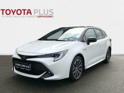 brugt Toyota Corolla Touring Sports 1,8 Hybrid H3 Premium E-CVT 122HK Stc Trinl. Gear A++