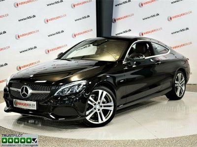 brugt Mercedes C220 d 2,2 Coupé
