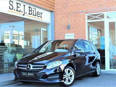 brugt Mercedes B180 d 1,5 CDI Business 109HK 6g A+