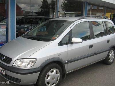 brugt Opel Zafira 1,6 16V Family 100HK