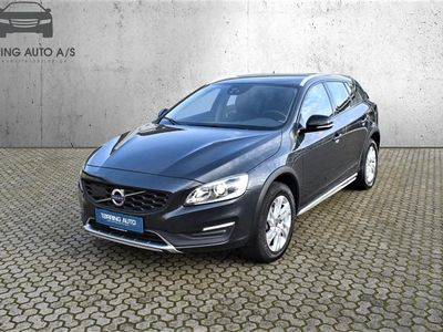 brugt Volvo V60 CC 2,0 D4 Momentum 190HK Stc 8g Aut. - Personbil - koksmetal