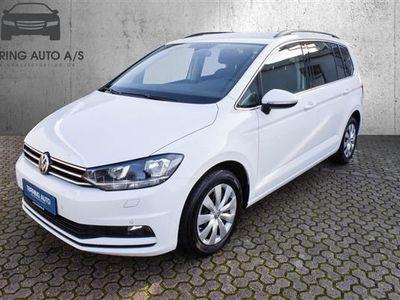 brugt VW Touran 1,4 TSI BMT Comfortline DSG 150HK 7g Aut. - Personbil - hvid