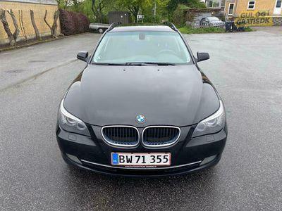 brugt BMW 520 d touring steptronik