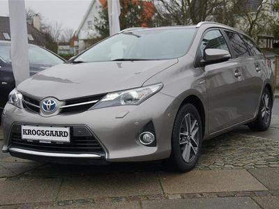 brugt Toyota Auris Touring Sports 1,8 VVT-I H2 Premium Comfort E-CVT
