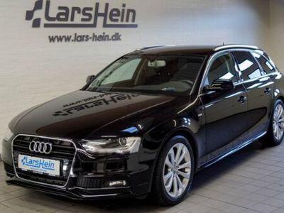 brugt Audi A4 2,0 TDi 136 S-line Avant