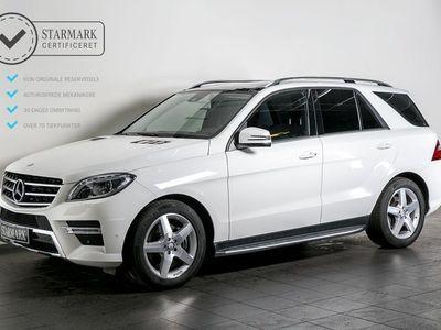 brugt Mercedes ML350 3,0 BlueTEC AMG aut. 4-M