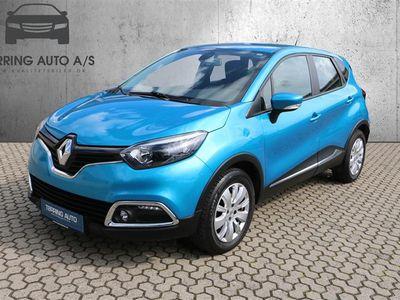 brugt Renault Captur 1,2 TCE Dynamique EDC 120HK 5d 6g Aut. - Personbil - blåmetal