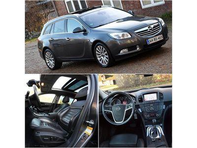 brugt Opel Insignia 2,0 opc line aut alt udstyrede