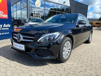 brugt Mercedes C220 d Business stc. aut.