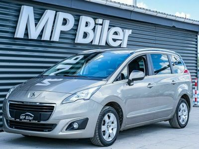 brugt Peugeot 5008 1,6 HDi 114 Style 7prs