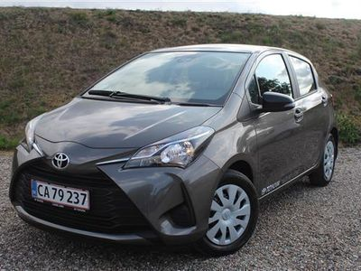 brugt Toyota Yaris 1,5 VVT-I T1 111HK 5d 6g