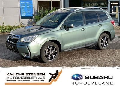brugt Subaru Forester 2,0 XT AWD CVT 240HK 5d Aut.