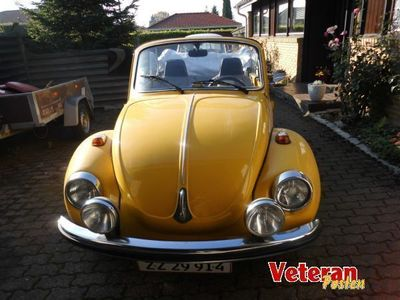 used VW Käfer cap