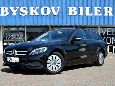 used Mercedes C220 d 2,2 stc. aut.