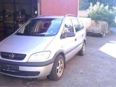 brugt Opel Zafira 1,6 16V Elegance 100HK