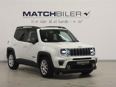 brugt Jeep Renegade 1,3 Turbo Limited First Edition DCT 150HK 5d 6g Aut.