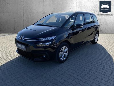 brugt Citroën Grand C4 Picasso 1,6 Blue HDi Seduction start/stop 120HK 6g - Personbil - Sort - 7 pers.
