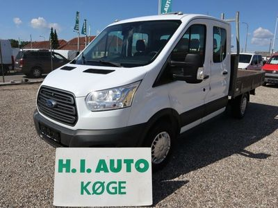 brugt Ford Transit 350 L3 Chassis 2,2 TDCi 125 Db.Cab Ambiente RWD