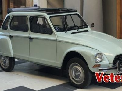 brugt Citroën Dyane 6 med ny 720 ccm motor