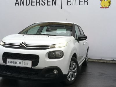 brugt Citroën C3 1,6 Blue HDi Iconic Limited start/stop 75HK 5d