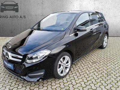 brugt Mercedes B180 d 1,5 CDI 109HK 6g - Personbil - sort