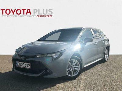 brugt Toyota Corolla Touring Sports 1,8 Hybrid H3 Smart Safety Plus E-CVT 122HK Stc Trinl. Gear A+++