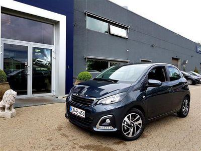 gebraucht Peugeot 108 1,0 e-Vti Allure+ 72HK 5d
