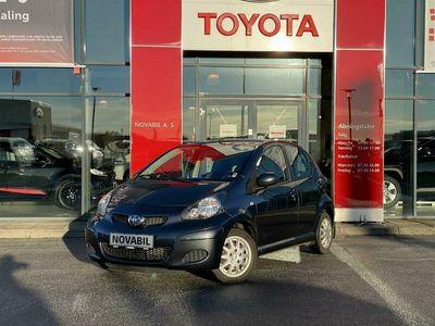 brugt Toyota Aygo Plus 1,0 68HK 5d A+