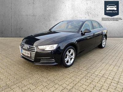 brugt Audi A4 1,4 TFSI Sport S Tronic 150HK 7g Aut. - Personbil - Sortmetal